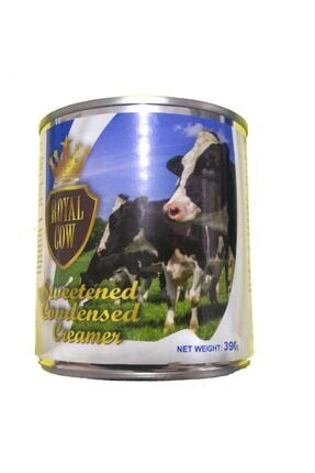 Yılman Kahvecisi Royal Cow Sweetened Condensed Milk - Şekerli Yoğun Süt Tatlandırılmış Yoğunlaştırılmış Süt 390 Gr 0