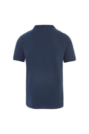 The North Face M POLO PIQUET - EU Mavi Erkek Kısa Kol T-Shirt 100576711 1