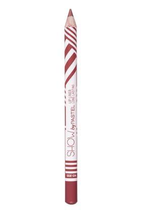 Pastel Dudak Kalemi - Show By Long Lasting Lip Pencil No 200 8690644009518 0