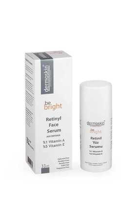 Dermoskin Be Bright Yaşlanma Karşıtı  Retinil Yüz  Serumu 33 ml 0