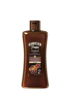 Hawaiian Tropic Hawaııan Tropic Bronzlaştırıcı Yağ Spf 2 200 Ml 0
