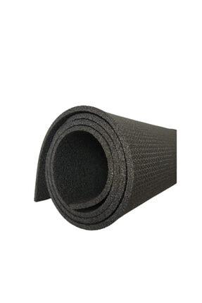 Om Guru Yoga Pilates Matı Antrasit Desenli Yoga Mat 6,5mm 0