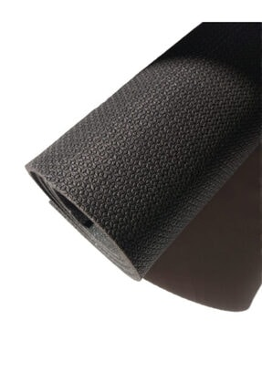 Om Guru Yoga Pilates Matı Antrasit Desenli Yoga Mat 6,5mm 3
