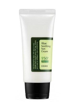 Cosrx Aloe Soothing SunCream Aloe Vera Ekstreli Yatıştırıcı SPF5 Güneş Kremi 50 ml 0