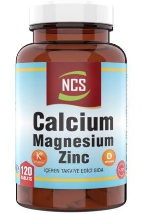Ncs Kalsiyum Magnezyum Çinko 120 Tablet Vitamin D & K 0