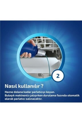 Finish Bulaşık Makinesi Parlatıcı 800 ml Limon 4