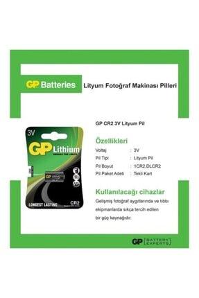 İntec Fotoğraf Makinesi Pili Gp Cr2 3v Pil Lityum 2026 1