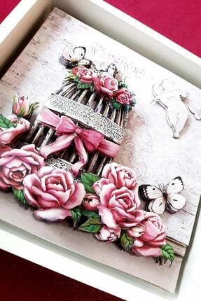Rams Gümüş Romantizm, Güller Rölyef Tablo 1