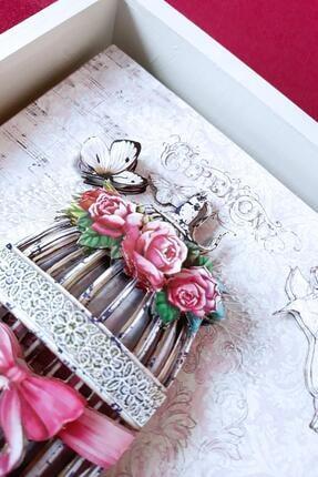 Rams Gümüş Romantizm, Güller Rölyef Tablo 4