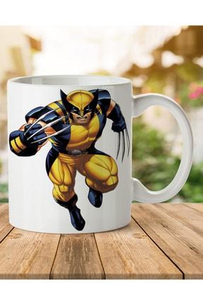 MET DESİGN Wolverine Marvel Porselen Kupa Bardak 0