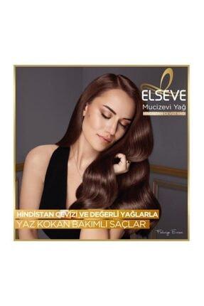 Elseve L'oréal Paris Mucizevi Hindistan Cevizi Yağı Ağırlaştırmayan Besleyici Şampuan 450 ml 3