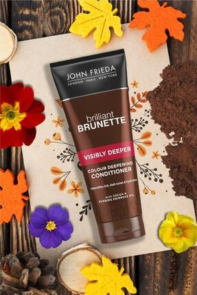 John Frieda Kahverengi Saçlara Özel Renk Yoğunlaştırıcı Saç Bakım Kremi 250 ml 2