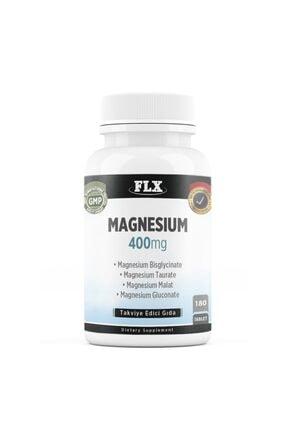 FLX Magnesium Bisglisinat Malat Taurat Glukonat 180 Tablet Magnezyum 0