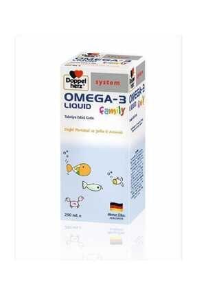 Doppelherz Omega 3 Liquid Family 250 Ml 0
