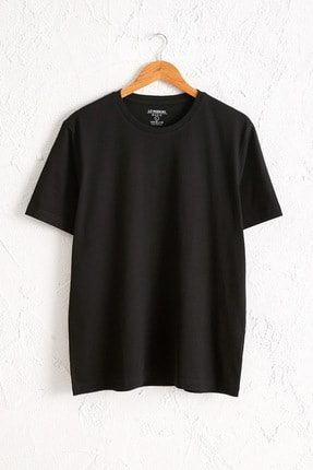 LC Waikiki Erkek Yeni Siyah Tişört 0W6609Z8 0