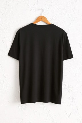LC Waikiki Erkek Yeni Siyah Tişört 0W6609Z8 1