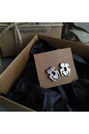 Mammamia Silver Sevgili Çelik Küpe (sevgili Küpe) 0