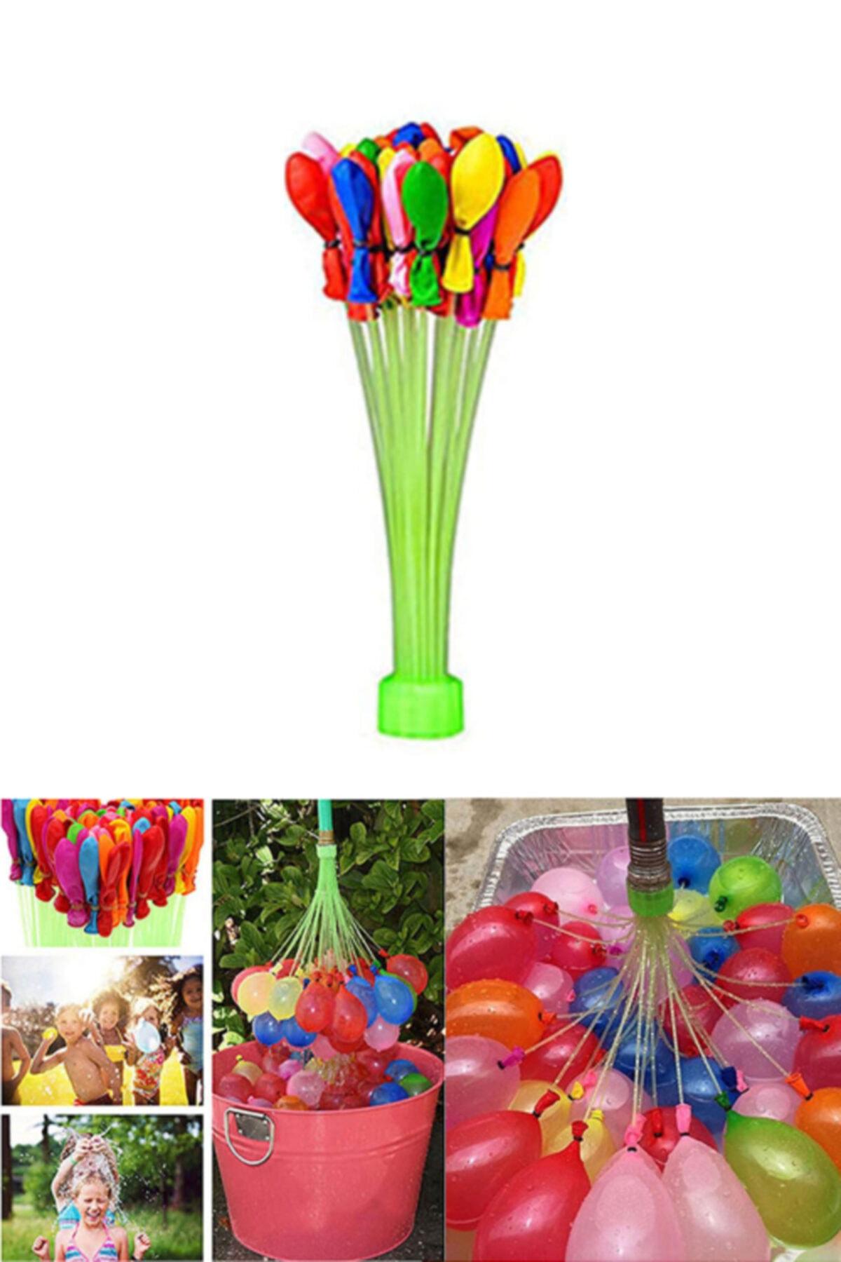 37 Adet Su Balonu Ve Su Balon Sihirbazı Doldurma Aparatı