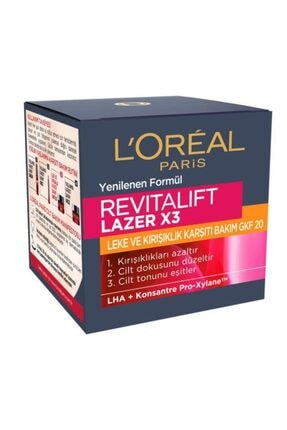 L'Oreal Paris Revitalift Laser X3 Gkf20 Yaşlanma Karşıtı Bakım Kremi 50 Ml 2
