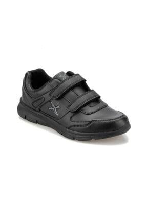 Kinetix Kadın Siyah Cırtlı Günlük Spor Ayakkabısı 4