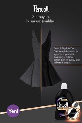 Perwoll Hassas Bakım Sıvı Çamaşır Deterjanı, Siyah+Renkli+Bakım Onarım+Beyaz 3L 4'lü Set 4