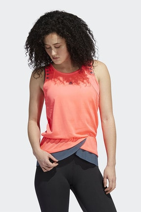 adidas TANK P.HRDY Mercan Kadın Kolsuz T-Shirt 101118137 3