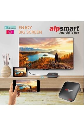 Alpsat Alpsmart As565-x3 4k 32gb 4gb Android 9.0 Tv Box 3