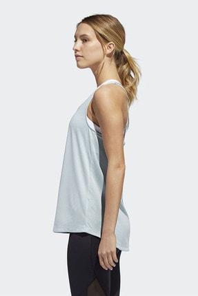 adidas TUNIC TANK Mavi Kadın Kolsuz T-Shirt 101118207 1