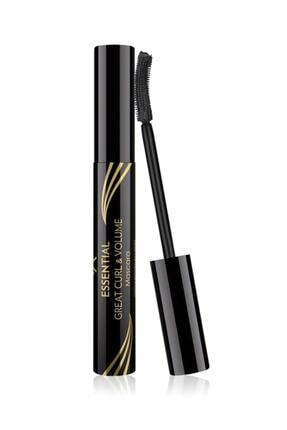 Golden Rose Kıvrım & Hacim Etkili Siyah Maskara - Essential Great Curl & Volume Mascara 8691190070618 0