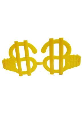 MGA SHOP Neon Renk 12 Adet Büyük Dolar Parti Gözlüğü 2