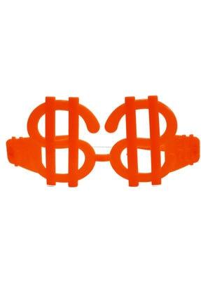 MGA SHOP Neon Renk 12 Adet Büyük Dolar Parti Gözlüğü 3