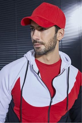 Sateen Men Erkek Kırmızı Şapka 0