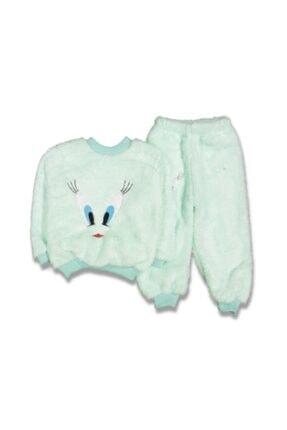 Labla Kids Welsoft Göz Nakışlı Pijama Takımı 0
