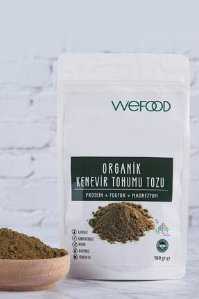 Wefood Organik Kenevir Tohumu Tozu 100 gr 1