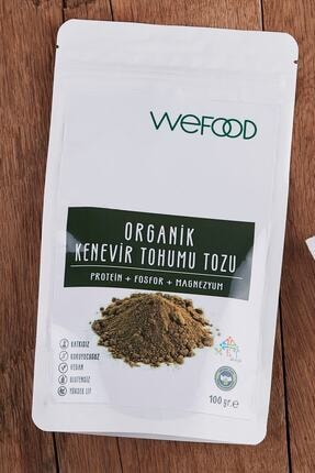 Wefood Organik Kenevir Tohumu Tozu 100 gr 2
