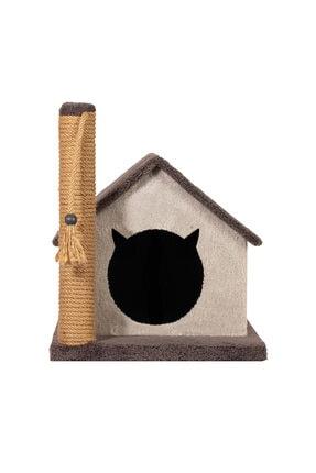 PETSİ Friends Kedi Evi Ve Tırmalama 0