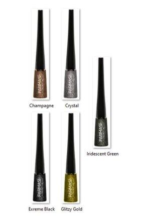 Farmasi Glitter & Metalik Eyeliner 4,5gr 1