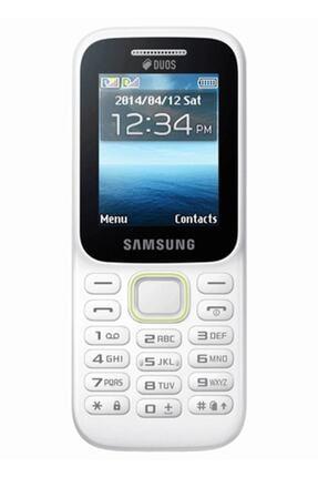 Samsung B310e (Çift SIM) Beyaz Tuşlu Cep Telefonu 0