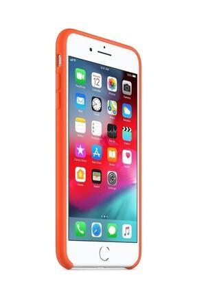 Apple Iphone 7 Plus Turuncu Silikon Kılıf 1