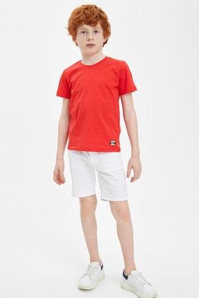 Defacto Erkek Çocuk Basic Tişört 1