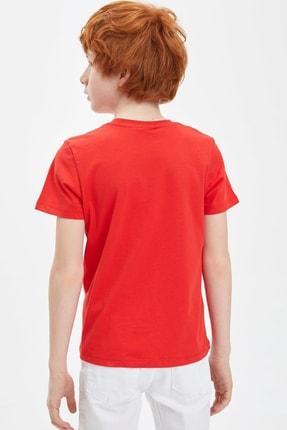 Defacto Erkek Çocuk Basic Tişört 3