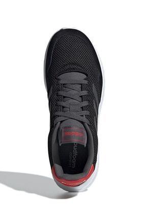adidas Erkek Siyah Bağcıklı Koşu Ayakkabısı 3