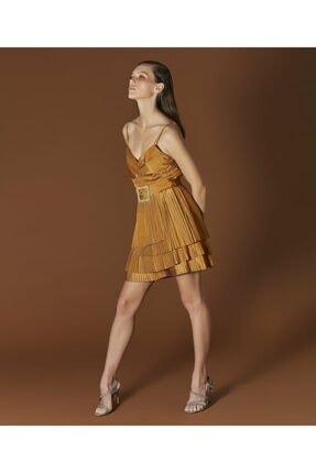 İpekyol Kadın Sarı Askılı Bluz 3