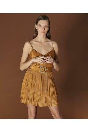 İpekyol Kadın Sarı Askılı Bluz 4