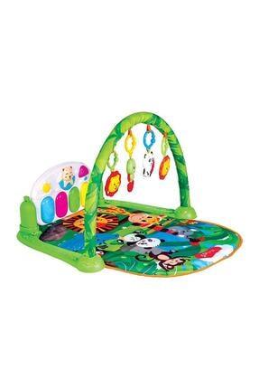 Babies Piyanolu Oyun Halısı Sevimli Orman 0