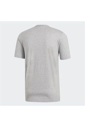 adidas E Pln Tee Erkek T-shirt Mgreyh/black Du0382 1