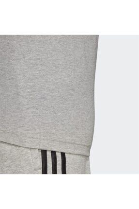 adidas E Pln Tee Erkek T-shirt Mgreyh/black Du0382 3