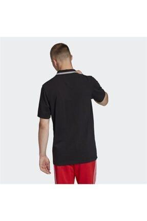 adidas Black Pıque Polo 1