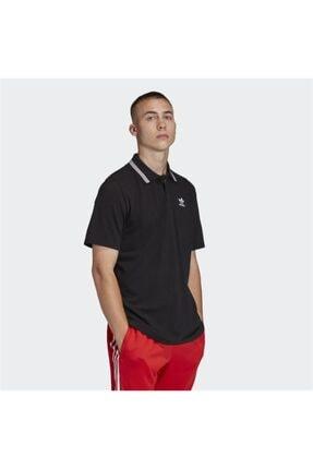 adidas Black Pıque Polo 2