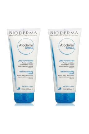 Bioderma Atoderm Cream 200 Ml 2 Adet 8374 0